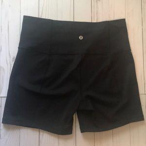 Lululemon High Waisted Bike Shorts
